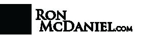 Ron McDaniel  logo